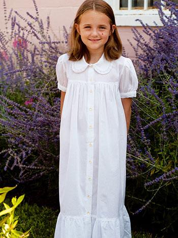 Chrissy Girls Petticoat - white