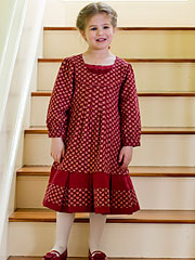 Cranberry Girls Dress
