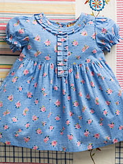 Basket Rose Girls Dress