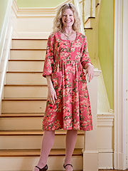 Heirloom Rose Ladies Dress