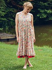 Nostalgia Reversible Ladies Dress