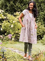 Kashmir Paisley Dress