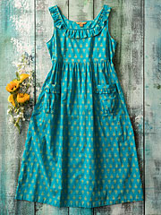 Blue Lagoon Smock Dress