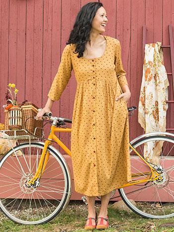 Honey Flower Longsleeve Dress