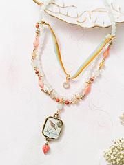 Coeur Bird Necklace