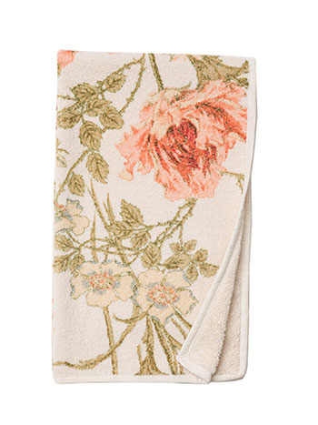 Rose Nouveau Terry Hand Towel