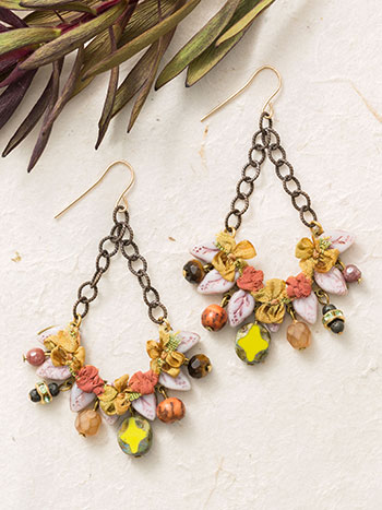 Leaf Swing Earrings