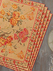 Conservatory Placemat Set/4 - Gold