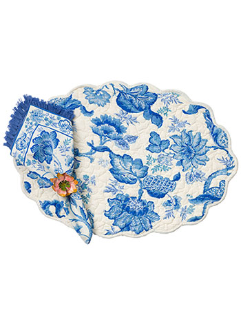 Evelyn Placemat Quilted Set/4