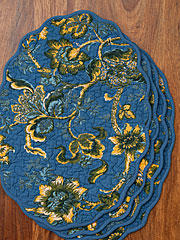 Evelyn Quilted Placemat Set/4