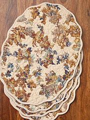 Reverie Quilted Placemat Set/4