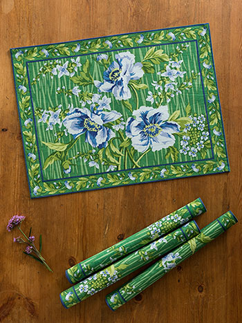 Water Lily Placemat S/4