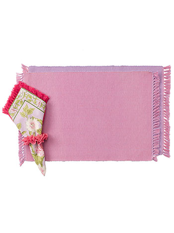 Essential Placemats Set/4 - PinkLavendar