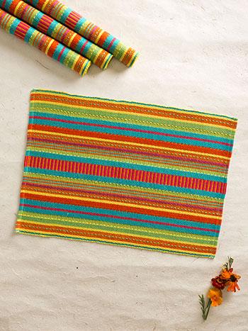 Fiesta Stripe Rib Placemat S/4