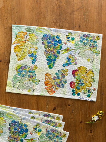 Wine Country Placemat S/4