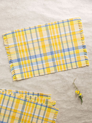 Provence Seersucker Rib Placemat S/4