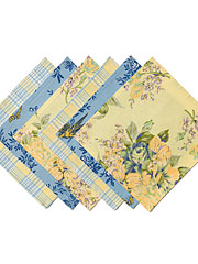 Provence Patchwork Cocktail Napkin Set/6