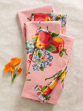Fruit Basket Napkin Bundle S/4