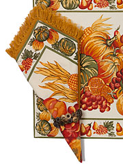Harvest Napkin Set/4 - Ecru