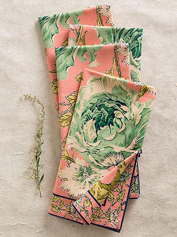 Rose Nouveau Napkin Bundle S/4