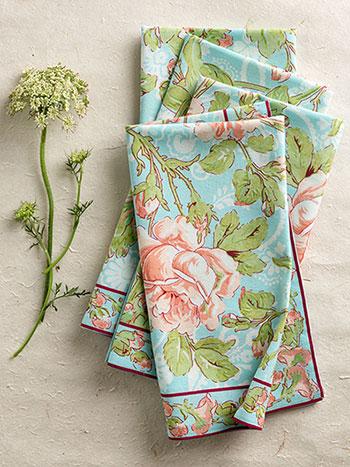 Tea Rose Napkin Bundle S/4