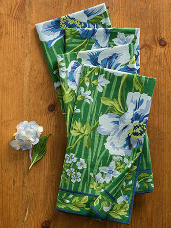 Water Lily Napkin Bundle S/4