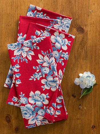 Willa Rose Napkin Bundle S/4