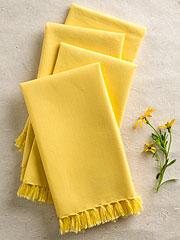 Essential Napkin Set/4 - Yellow