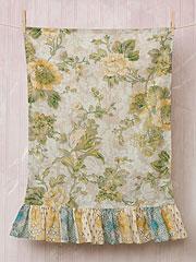 Tea Rose Pillowcase