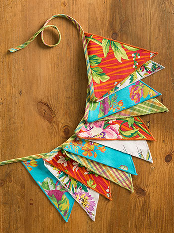 Fiesta Patchwork Pennants