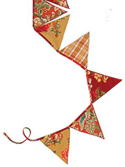 Indian Summer Patchwork Pennants