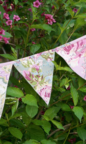 Victorian Patchwork Pennants