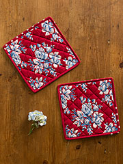 Willa Rose Potholder S/2