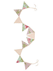 Pretty Patchwork Pennants