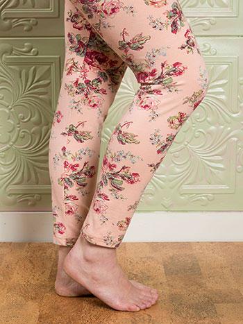 Victorian Rose Ladies Legging