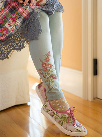 Tapestry Ladies Legging