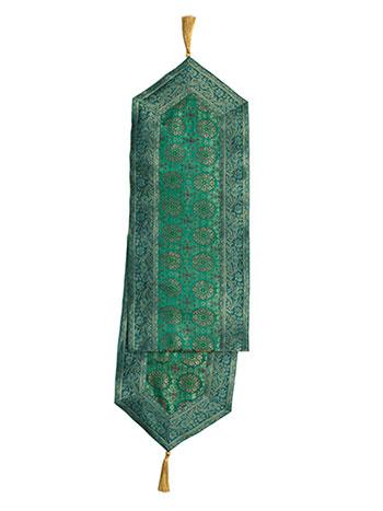 Emerald Brocade Runner