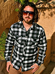 Black & White Checks Flannel