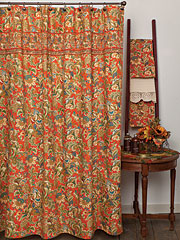 Jacob's Court Shower Curtain
