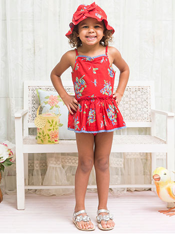 Chrysalis Girls Sunsuit