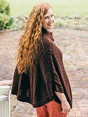 Woodland Ladies Cape Sweater