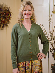 Betty's Button Cardie