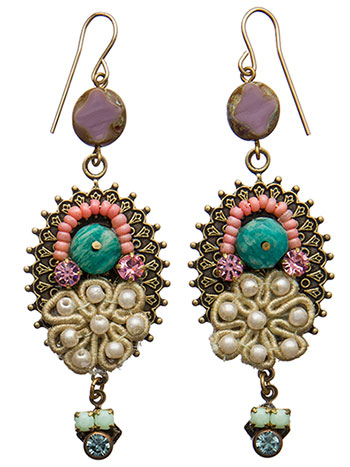 Gothic Crown Earring