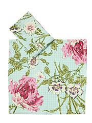 Rose Nouveau Little Dish Set/2 - Aqua