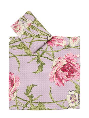 Rose Nouveau Little Dish Set/2 - Orchid
