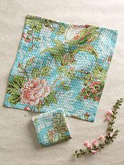 Tea Rose Tiny Towel S/4