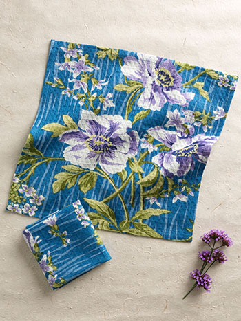 Water Lily Tiny Towel S/4