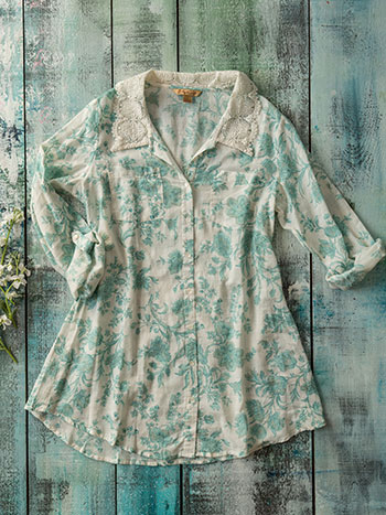 Sea Rose Tunic