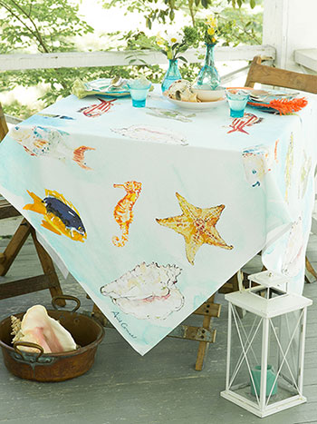 April's Reef Tablecloth