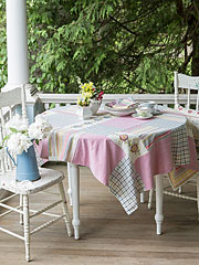 Aunt Gertie's Patchwork Tablecloth